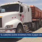 """Chiclayo: """"El gobierno quiere dividirnos para acabar con el paro"""""""