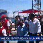 Piura: 700 toneladas de ayuda humanitaria llegaron al puerto de Paita.