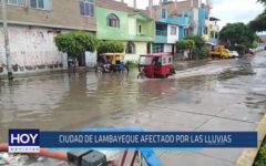 Chiclayo: Ciudad de Lambayeque afectado por las lluvias