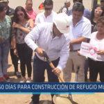 Chiclayo: 60 días para construcción de refugio municipal