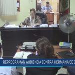 Chiclayo: Reprograman audiencia contra hermana de Oviedo