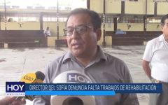 Chiclayo: Director del Sofía denuncia falta trabajos de rehabilitación
