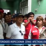 Piura: Autoridades inspeccionas zonas afectadas en Chulucanas