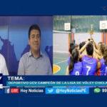 Chiclayo: Deportivo UCV campeón de la liga de Voley de Chiclayo