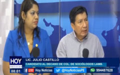 Chiclayo: Elecciones 2019 – 2021 del Colegio de Sociólogos de Lambayeque