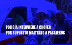 Trujillo: Acusan a chofer de combi de imprudente