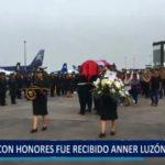 Piura: Con Honores fue recibido Anner Luzón Jiménez