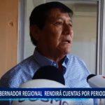 Piura: Gobernador regional rendirá cuentas ante periodo de lluvias.