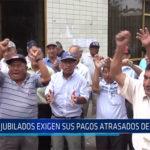 Chiclayo: Jubilados exigen sus pagos atrasados de sus CTS