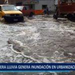 Piura: Ligera lluvia genera inundación en la Urb.San José