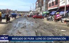 Piura: Mercado central lleno de contaminación