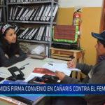 Chiclayo: Midis firma convenio en Cañaris contra el feminicidio