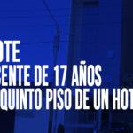 Chimbote: Adolescente de 17 años cae del quinto piso de un hotel