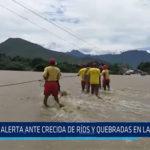 Chiclayo: Alerta ante crecida de ríos y quebradas en Lambayeque