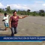Chiclayo: Anuncian construcción de puente Juana Ríos.
