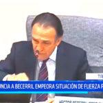 Denuncia a Becerril empeora situación de Fuerza Popular