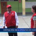 Chiclayo: Contraloria inicia operativo en colegios