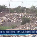 Chiclayo: Dren del pueblo joven Fanny Abanto convertido en basurero