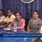 Chiclayo: Existe un déficit de psicólogos a nivel nacional