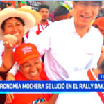 Gastronomía mochera se lució en el Rally Dakar 2019
