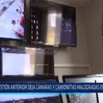 Chiclayo. Gestión anterior deja cámaras y camionetas malogradas en la Victoria