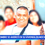 Trujillo: Padre de familia se ahorcó en su vivienda en el distrito de Moche