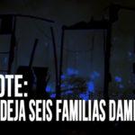 Chimbote: Incendio deja seis familias damnificadas
