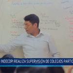Chiclayo: Indecopi realiza supervisión de colegios particulares