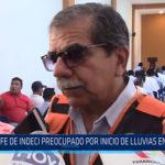 Chiclayo: Jefe de Indeci preocupado por inicio de las lluvias en la región