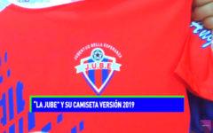 """Liga Distrital: """"La Jube"""" y su camiseta versión 2019"""