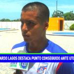 Ricardo Lagos destaca punto conseguido ante UTC