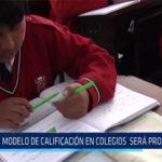 Chiclayo: Modelo de calificación en colegios será progresivo