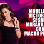 Miranda Kerr, modelo de Victoria's Secret, visitó Machu Picchu