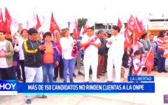 Multa Electoral: más de 150 candidatos no rinden cuentas a la ONPE