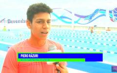 """Piero Rázuri se adjudicó premio """"el mejor nadador juvenil"""""""