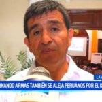 Fernando Armas también se aleja de Peruanos Por el Kambio