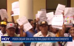 Chiclayo: Piden dejar sin efecto nulidad de reconocimiento