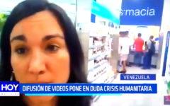 Venezuela: Difusión de videos pone en duda crisis humanitaria