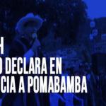 Áncash: Gobierno declara en emergencia a Pomabamba