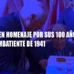 Gobierno Regional y Ejército rinden homenaje a combatiente de 1941