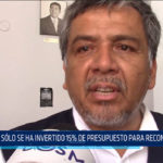 Chiclayo: Solo se ha invertido 15% de presupuesto para reconstrucción
