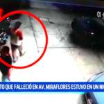Sujeto que falleció en avenida Miraflores estuvo en un Night Club