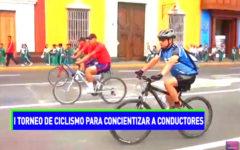 I Torneo de Ciclismo para concientizar a conductores