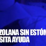 Venezolana que perdió el estómago necesita ayuda