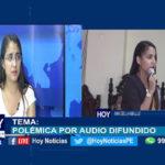 Chiclayo: Polémica por audio difundido.
