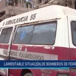 Chiclayo: Lamentable situación de bomberos de Ferreñafe