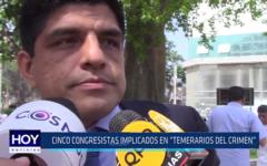 """Chiclayo: Cinco congresistas implicados en """"Temerarios del crimen"""""""