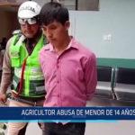 Chiclayo: Agricultor abusa de menor de 14 años