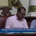 Chiclayo: Renunció gerente general del municipio chiclayano