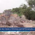 Chiclayo: Se multaran a personas que boten basura a la calle